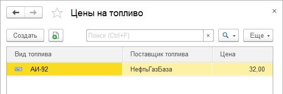 Записи регистра сведений
