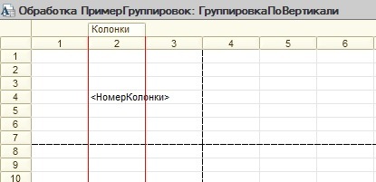 Макет табличного документа